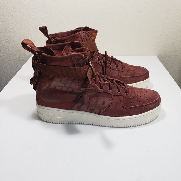 new arrival a22ba 971fa Nike SF Air Force 1 Mid Men New AF1 Pueblo Brown